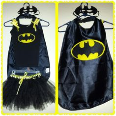 Annalyn's Batman Tutu Costume