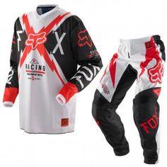 56e6b72686 Calça + Camisa Motocross Fox Giant  370.40 Peças Para Motos