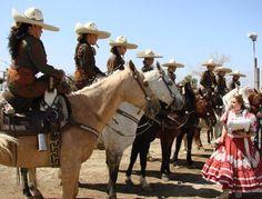 Las Azaleas: Mexican rodeo women's journey told in film 'Escaramuza'