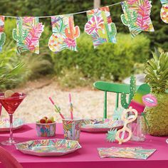Summer Party - Summer Party Themes - Summer Decorations & Lighting ...