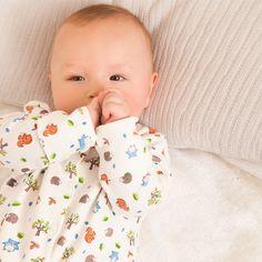 Woodland Baby Sleepsuit | JoJo Maman Bébé