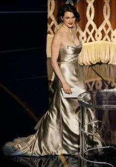 Rachel Weisz in Vera Wang (2007)