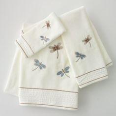 Home Classics Shalimar Dragonfly Bath Towels