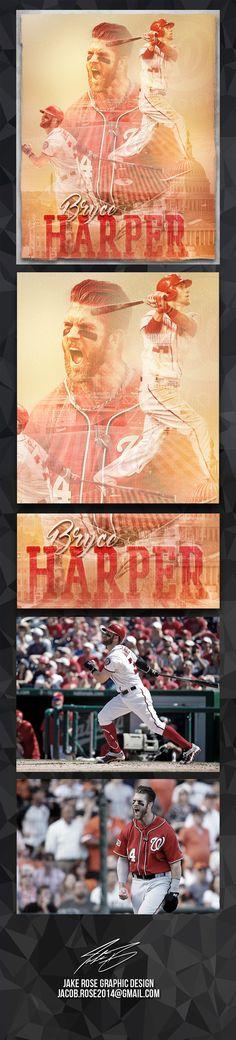 Bryce Harper - Washington Nationals on Behance