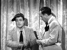 """Abbott and Costello - Who's on First"" Comedy Genius! http://www.youtube.com/watch?v=Nti08LWtxJI&feature=related"