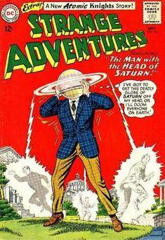 Saturn - Washington Dc - Planet Head - Blue Plaid Jacket - Gold Pants - Murphy Anderson