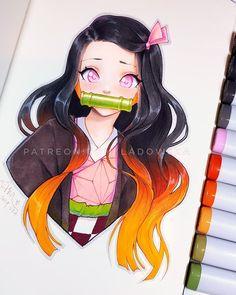 Copic Drawings, Art Drawings Sketches Simple, Kawaii Drawings, Cute Drawings, Anime Character Drawing, Manga Drawing, Character Art, Manga Art, Manga Anime Girl