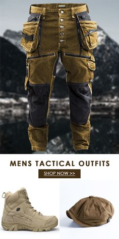 Tactical Suit, Mens Boots Fashion, Tactical Clothing, Mens Gear, Outdoor Apparel, Steampunk Costume, Men Style Tips, Cool Hats, Mode Vintage