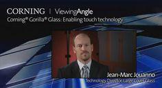 Corning® Gorilla® Glass: Enabling touch technology