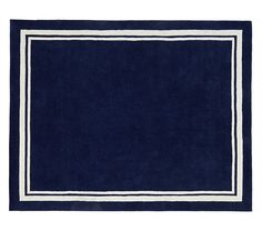 Harper Rug Navy 8'x10' | Pottery Barn Kids