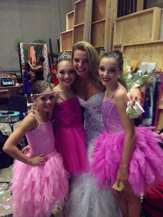 Ryleigh with the girls