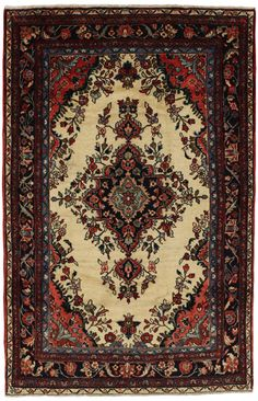 Lilian - Sarouk Persian Carpet 212x140