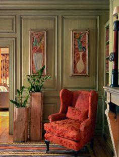 British style Designer Kit Kemp  http://adelaparvu.com/2013/09/30/interioare-in-stil-british-condimentate-cu-arta-contemporana/