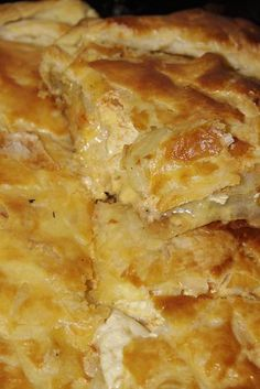 Potato  Cheese Pie....sounds interesting if you love potatoes & cheese!