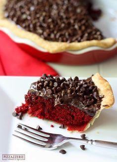 Yummy Recipes: Red Velvet Fudge Pie recipe