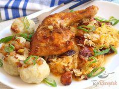 20 nejlepších sezónních receptů z kysaného zelí, strana 2 Sauerkraut, My Recipes, Cooking Recipes, Good Food, Yummy Food, Party Finger Foods, Main Meals, Food Videos, Poultry