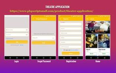 Theater Android App Movie Tickets Mobile App App