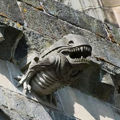 """Paisley Abbey was built in central Scotland in 1245, a full 734 years before Ridley Scott's terrifying masterpiece """"Alien."""" So how, exactly, did an """"Alien"""" gargoyle burst out of the church's roofline, the stonework standing in for John Hurt's chest? As pictures of the anachronism made their way around the Internet, conspiracy theorists speculated about everything from time travelers to visitors from other planets."""