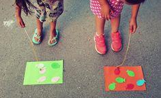Fishing game activity - Preschool Kids summer