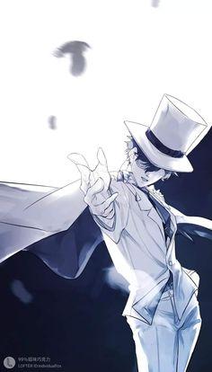 Otaku Anime, Anime Guys, Anime Art, Magic Kaito, Kaito Kuroba, Detective Conan Wallpapers, Kaito Kid, Case Closed, Amuro Tooru