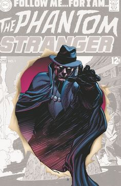 Phantom Stranger #0 issue cover!