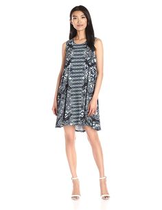 Karen Kane Women's Sleeveless Maggie Trapeze Dress ^^ Don't get left behind, see this great  product : Women's dresses