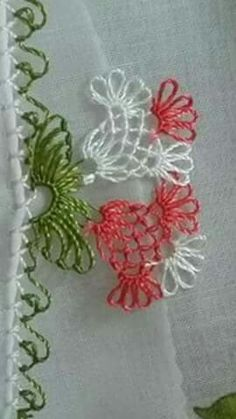 Lace Making, Tatting, Knots, Elsa, Embroidery, Parmesan, Model, How To Make, Sewing Needles