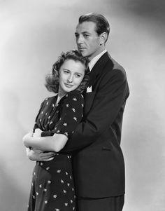 Gary Cooper and Barbara Stanwyck for Meet John Doe