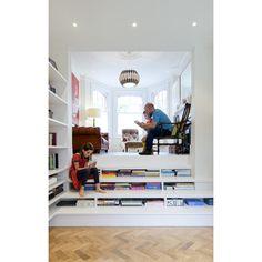 Rosa & John's spectacular home, Muswell Hill, London, ZDB Architects, Zminkowska De Boise Architects. Rightly won a 'Don't Move, Improve' award.