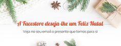 Neste Natal torne o seu sonho em realidade com a Facestore. Abra hoje a sua loja e veja o presente que temos para si!