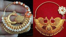 Nose Ring Jewelry, Body Jewelry, Gold Wedding Jewelry, Bridal Jewelry, Gold Jewellery, Fashion Rings, Fashion Jewelry, Women Jewelry, Nose Jewels