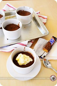 Snickers Chocolate Pudding