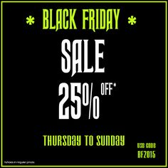 Are you ready for some serious shoe shopping? Get your favorite pair of shoes at a great price! Black Friday SALE Starting (early) on Thursday November 26th (@ midnight Polish Time - CET) Ending on Sunday November 29th (@ midnight Polish Time - CET) Use code BF2015  www.raspberryheels.com