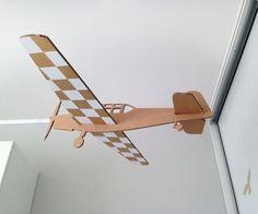 Dekorační letadlo 80cm