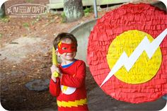 flash superhero birthday party - Google Search