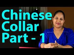 Class 8 - How to make chinese collar for kurti / cutting and sewing- Part 2 Sewing Hacks, Sewing Tutorials, Sewing Patterns, Blouse Patterns, Sewing Tips, Sewing Projects, Collar Pattern, Neck Pattern, Collar Kurti Design