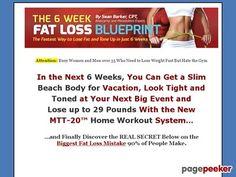 Nice 6 Week Fat Loss Blueprint System - 6 Week Fat Loss Blueprint
