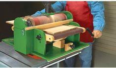 Ah! E se falando em madeira...: Projeto: Lixadeira de Rolo