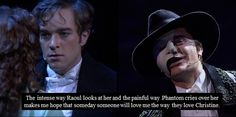 2 of the reasons I can never get married: Hadley Fraser and Ramin Karimloo.