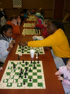 TBT: Youth Chess Club at Conyers-Rockdale Library | #Chess #ConyersRockdaleLibrary www.conyersrockdalelibrary.org