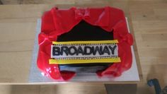 Broadway stage cake Broadway Stage, Cake Face, How To Make Cake, Cakes, Desserts, Food, Tailgate Desserts, Meal, Cake
