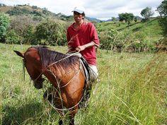 A field worker in Nicaragua