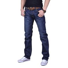 >> Click to Buy << New Arrival Famous Brand Jeans For Men Cheap Jeans China Straigh Regular Fit Denim Jeans Pants Classic Blue Colour Size 28 To 38 #Affiliate