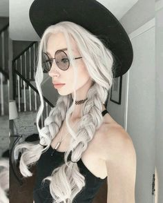 Magical Dye Hair and Some Tips - Inspired Beauty # pigtail Braids aesthetic Magical Dye Hair and Some Tips - Inspired Beauty # pigtail Braids aesthetic # pigtail Braids aesthetic Pigtail Braids, Black Braids, Trendy Hairstyles, Pretty People, Dyed Hair, Hair Inspiration, Hair Makeup, Hair Color, Hair Beauty