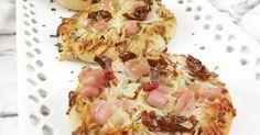Pizzetas rápidas de pan - Recetas Fáciles Reunidas