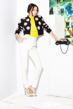 Alice + Olivia Resort 2015 Fashion Show Collection