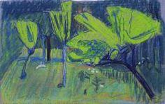 Hans Berger, Pommiers, 1911 - Fondation Planque Aix En Provence, Expositions, Recherche Google, Painting, Artists, Cooking Food, Drawings, Recipes, Kunst