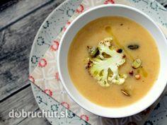 Karfiolovo – šošovicová polievka s rascou