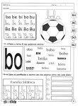 Atividades Escolares com As Consoantes B, C, D, F, G, J, L e M
