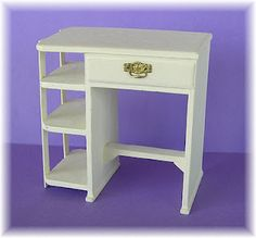 DYI DOLLHOUSE MINIATURES- sweetheart desk